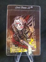 Bam Box Horror Friday the 13th Jason Trading Card By Mark Melton 1734/2500