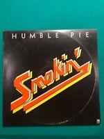 Humble Pie Smokin' Vinyl LP Dated 1972