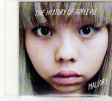 (FU866) The History of Apple Pie, Mallory - 2011 DJ CD