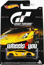 LAMBORGHINI GALLARDO LP 570-4 SUPERLEGGERA - 2016 Hot Wheels GRAN TURISMO DJL12