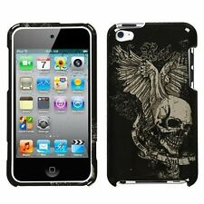 design crystal hard case f apple ipod touch 4th gen-skull wing