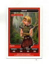 Carte Carrefour Dreamworks n° 119/216 - Astrid - Dragons (A3776)