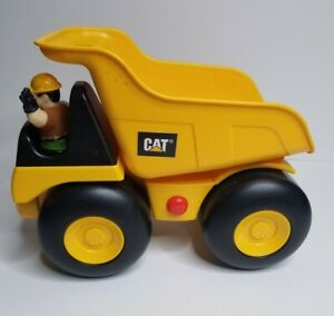 TOY STATE Industrial Construction CAT Big Movin Rumbler Dump Truck WORKS