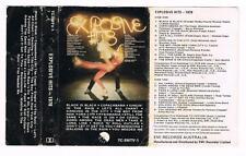 EXPLOSIVE HITS 1978, VARIOUS ARTISTS,  *RARE CASSETTE TAPE*