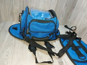 Gears Canada Modular Tank Bag Blue Nylon Magnetic, Buckle Shoulder Backpack