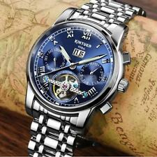 KINYUED Mens Business Sports Automatic Mechanical Watch Calendar Chronograph