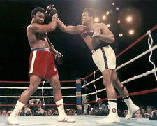1974 Boxing MUHAMMAD Ali vs GEORGE FOREMAN 8x10 Photo Rumble in the Jungle Print