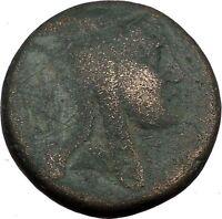 AMISOS in PONTUS Mithradates VI the Great Mithras Ancient Roman Coin Rare i38098