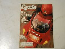 SEPTEMBER 1989 CYCLE MAGAZINE,DUCATI 851 SUPERBIKE COVER,CAM TIMING SECRETS,AMA