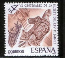 Año 1977 -  2397 VII Cent. muerte de D. Jaime I