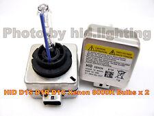 2x D1S D1R HID Xenon Bulb Benz BMW Audi Porsche 8000K 12V 35W light  lamp D1C