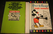 "Fumetti""CARTOON MICKEY MOUSE MAGIC MOMENTS+STEAMBOAT WILLIE""Topolino/Walt Disney"