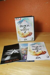 Black & White 2 PC Computer Game EA - 100% Complete With Manual And Inserts 2005