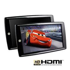 """2x 9 TFT HD-Écran pour Auto Voiture Fcc SUV Appui-tête avec HDMI+SD"""""""