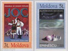 2003 Moldavië 463-464 Europa CEPT - Affichekunst - Poster art