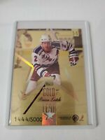 1995 Donruss Gold Leaf Stars Ray Bourque & Brian Leetch 1444/5000 Sweet Card!