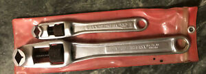 "Craftsman | Pocket Socket Wrench Set  12"" X-44666 & 8"" X-44663 EXTRA NICE COND!"