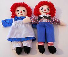 "Vintage années 1990 Applause-RAGGEDY ANN Ragdoll-Ann & Andy - 12"" jouets en peluche (9)"