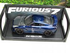 1/18 JADA FAST & FURIOUS 2009 BRIAN'S NISSAN R35 GT-R VIN DIESEL PAUL WALKER