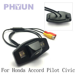 1pc CCD Car Rearview  Reverse Camera For Honda Accord Pilot Civic Acura TSX