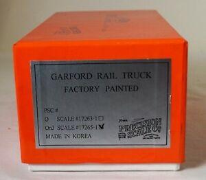 On3 Presision Scale Company Garford Rail Truck