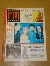 RECORD MIRROR 1988 APRIL 23 JAMES BROWN PREFAB SPROUT
