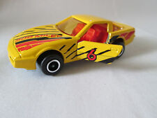 Majorette Yellow #6 Chevrolet Corvette Sports Car #215 #268 France 1/57 (Minty)