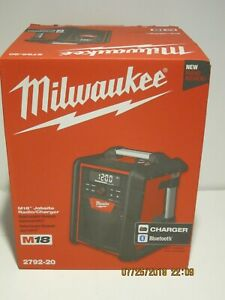 Milwaukee 2792-20 M18 Jobsite Radio/Charger-FREE SHIPPING-NEW IN SEALED BOX!!!!!