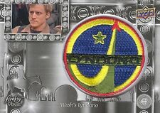 2015 Upper Deck Firefly The Verse F-20 Wash's Lyndono Patch Replica Card MINT!
