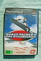 Playstation 2 Shaun Palmer'S Pro Snowboarder Ps2 Jeu en francais Cd-Rom et Étui
