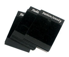 50 Black hot Jewellery Display Cards 52x37mm