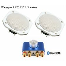 Bluetooth Waterproof Speakers for up to 120 degrees, suitable for Saunas