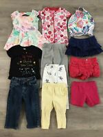 Toddler Girl Clothing Lot, 11 Items, 12-18 Months, Carter's, Old Navy, Baby Gap