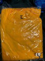 Kanye West I Feel Like Kobe long Sleeve T Shirt Yellow LARGE LAKERS AUTHENTIC