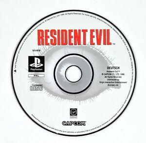 SONY PlayStation Spiel RESIDENT EVIL dt. PAL Survival Horror/Biohazard