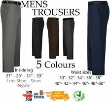 Unbranded Patternless Trousers for Men