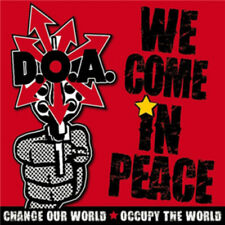 D.O.A. : We Come in Peace CD (2012) ***NEW***
