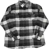 Factory Effex Kawasaki Mens Motorcycle Tops Long Sleeve Button Up Flannel Shirts