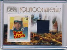 GARY COOPER 2010 PANINI CENTURY COLLECTION HOLLYWOOD STAMP SWATCH RELIC #'D /250
