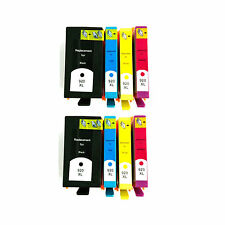 Reman Ink Cartridge for HP Officejet 6500, 6500 Wireless (Pack of 4-color X2)