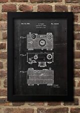 Photo Kamera 1938 Patent Art Fine Art-Print Galeriequalität A4 Kunstdruck