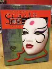 KABUKI SCARAB MASKS - David Mack - Moore  Creations - 2002 – Rare, NIB - Ceramic