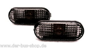 VW Bus T5 - Seitenblinker Blinker - Schwarz - NEU