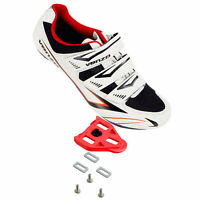 Venzo Road Bike For Shimano SPD SL Look Cycling Bicycle Shoes & Cleats 49