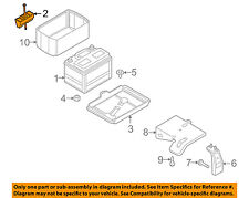 MAZDA OEM 09-13 6 2.5L-L4 Battery-Hold Down Tie Bracket Clamp GS3L5603XA