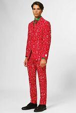Mardi Gras Suit Adult Men/'s Costume Opposuits Slim Halloween