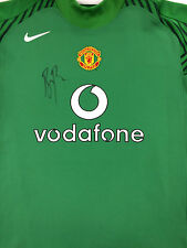 Ben FOSTER Signed MANCHESTER UNITED Shirt & COA Autograph AFTAL ENGLAND KEEPER