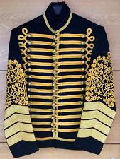 Jimi Hendrix Giacca, Militare Tunica, USSARI PELISSE, su Misura, S M L XL