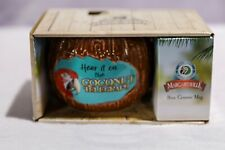 Enesco Jimmy Buffet Margaritaville Coconut Telegraph Mug Dis & Dat  16oz