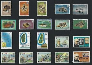 G643 Tuvalu / A Small Collection Early & Modern Umm  Lhm & Used